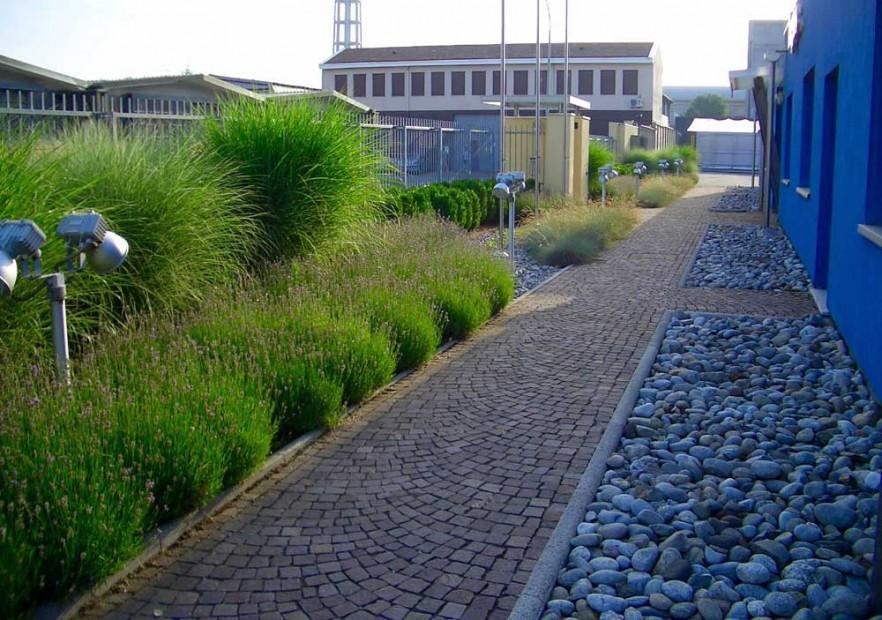 Progettazione giardini aziendali